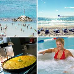 Buen tiempo, #sol, #gastronomía y después...circuito de #spa! ☀  Good weather, sun, gastronomy and after that…Spa circuit! #Benidorm