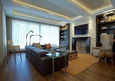LG Construction + Development Family Room