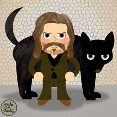 Vector Potter Sirius Black by brodiehbrockie on DeviantArt Harry Potter Godfather, Harry Potter Fan Art, The Dog Star, Sirius Black, Mischief Managed, Hogwarts, Minnie Mouse, Witch, Geek Stuff