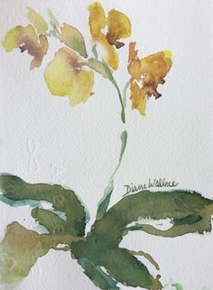 Buy Zen Orchid #5, Watercolour by Diane Wallace on Artfinder. Discover thousands of other original paintings, prints, sculptures and photography from independent artists.