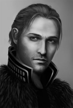 Anders  Dragon Age: Black and White Photoset  Sirinne