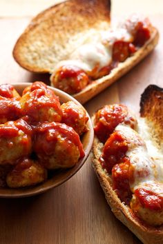 Barbecue Meatball Subs | Moist meatballs tossed in homemade barbecue sauce make the perfect summer meal!