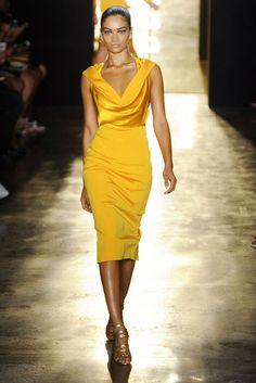 New York Fashion Week Spring/Summer 2015 Day 2 Recap   Monique Lhuillier, Jason Wu, Kate Spade + More