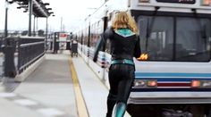 Movies and Chill Marvel Gif, Captain Marvel, Chill, Leather Pants, Movies, Leather Jogger Pants, Films, Lederhosen, Cinema