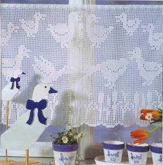 lace crochet curtains - dantel perde...