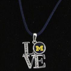 Michigan Wolverines Love