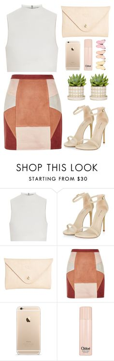 """untitled 003"" by styledbybruni ❤ liked on Polyvore featuring Elizabeth and James, Joshu+Vela, River Island and Chloé"