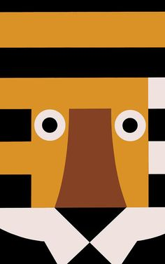 The Masterful, Eye-Popping Posters Of Tom Eckersley Children's Book Illustration, Graphic Design Illustration, Digital Illustration, Animal Illustrations, Illustrations Posters, Modern Graphic Design, Graphic Art, Design Art, Pop Design