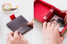 Turn photos of your favorites into a handmade gift.