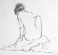 Discover recipes, home ideas, style inspiration and other ideas to try. Figure Sketching, Figure Drawing, Human Figure Sketches, Woman Drawing, Life Drawing, Woman Sketch, Art Drawings Sketches, Pencil Art Drawings, Silhouette Art