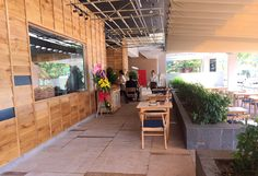 Pizza 4P's Sheraton NT Pergola, Pizza, Outdoor Structures, Patio, Outdoor Decor, Home Decor, Decoration Home, Room Decor, Outdoor Pergola