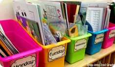Step into 2nd Grade with Mrs. Lemons: Visual Plans (lots of freebies) and Math Stations