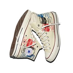 The Converse All Star Andy Warhol Collection.  In store 2/7. Find it on www.converse.com.