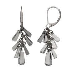 Simply+Vera+Vera+Wang+Bar+Cluster+Drop+Earrings