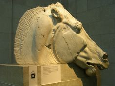Horse head from the Parthenon reliefs - British Museum (London)