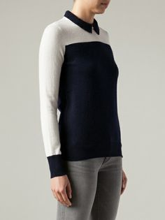 'Syndey' polo sweater