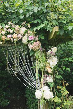 #crystal  Photography: Kristyn Harder Photography - www.kristynharderphotography.com  Read More: http://www.stylemepretty.com/destination-weddings/2013/12/09/london-garden-bridal-shoot/