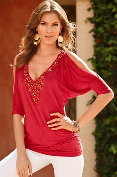 From fearlessly fitted to effortlessly chic, women's tops, blouses and sweaters at Boston Proper are sexy, distinctive, and flatter every figure. Dress Outfits, Casual Outfits, Cute Outfits, Fashion Outfits, Womens Fashion, Unique Clothes For Women, Boston Proper, Blouse Styles, Stylish
