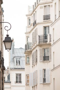 Travel Photography Discover Paris Photography Morning in the Marais St Paul soft blue and grey tones French Decor Paris Wall Art Gift for Francophile Gray Aesthetic, Travel Aesthetic, Oh Paris, Pink Paris, Montmartre Paris, Paris Cafe, Parisian Architecture, Marseille France, Paris Wall Art
