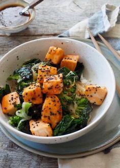 One pot wonder - lettvint gryterett - Mat På Bordet One Pot Wonders, Thai Red Curry, Potato Salad, Nom Nom, Seafood, Spicy, Food And Drink, Ethnic Recipes, Drinks