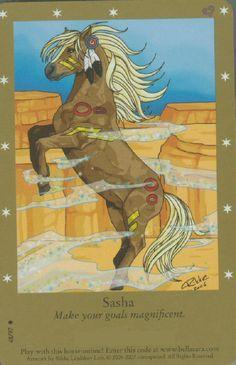 bella sara horse cards mermaid - Google Search