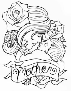 Easy Happy Mothers Day Drawings Ideas, Pictures To Print & Color. beautiful mother's day special drawings flower, pencil drawing images for kids, Daughter & Son Mothers Day Wishes Images, Happy Mothers Day Pictures, Happy Mother Day Quotes, Mothers Day Coloring Pages, Baby Coloring Pages, Adult Coloring, Colouring Sheets, Pictures To Draw, Print Pictures