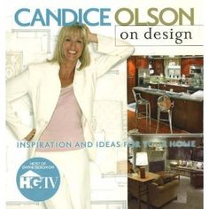Candice Olson on Design from HGTV. Practical inspiration for anyone looking to start a home decor makeover. Full of design secrets and smart tips! Book Cover Design, Book Design, Makeover Shows, Hgtv Designers, Devine Design, Candice Olson, Quick Reads, Room Tour, Love Her Style