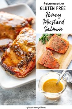Simple, flavorful and healthy salmon the whole family will love! Less than 20 minutes until you have this delicious Honey Mustard Salmon on the table!