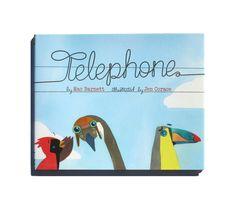 Telephone by Mac Barnett and Jen Corace