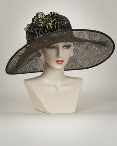 64738f522aa Louise Green Sale Hats – Louise Green Millinery. Lynne Fazzi · large brim  hat