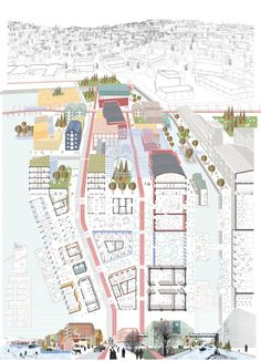 Europan 13 : Trondheim, False Mirror Office - BETA