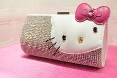 Monedero 'Hello Kitty' Con Cristales Swarovski - Valorado en $100,000 de Edición Limitada
