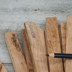 Reclaimed Wood Garden Spikes $24