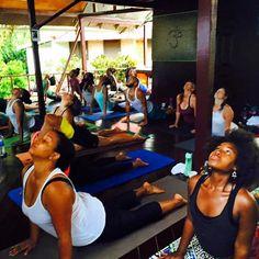 Kemetic Yogis in training #KemeticYoga #KemeticYogaretreat #retreat #Jamaica #blackyogis #healthyliving #holisticliving #yogaskills #vegan #wellness #BrownstoneFlow #BrownstoneWellness