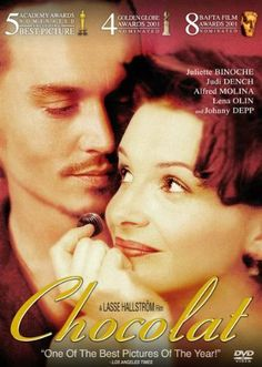 Chocolat (2000) Juliette Binoche, Judi Dench, Johnny Depp , http://www.amazon.ca/dp/B00AA52ERM/ref=cm_sw_r_pi_dp_h4UIsb0E4SA6Q