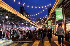 Melbourne Winter Night Markets. We love the Melbourne night markets!