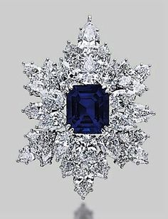 Lot-A-SAPPHIRE-AND-DIAMOND-BROOCH-PENDANT-BY-HARRY-WINSTON