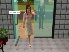 #courtleymanor #gothic #sims2 #comic #goth #sims #vampire #soapopera #occult #paranormal #psychics #shopping #littleshop #flowershop