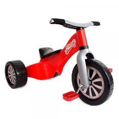 Triciclo Custom rojo infantil.Palau 1522, IndalChess.com Tienda de juguetes online y juegos de jardin
