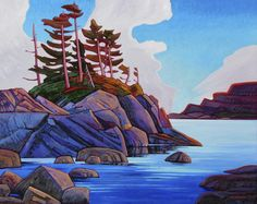June 7 - 21 2014 Waterfall Paintings, Seascape Paintings, Landscape Art, Landscape Paintings, Landscapes, Oil Painting Pictures, Sketch Painting, Canadian Artists, Painting Inspiration