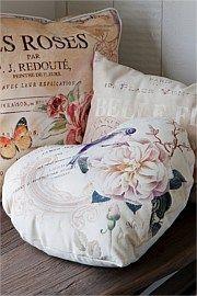 $34.99 Heart Fleur Cushion