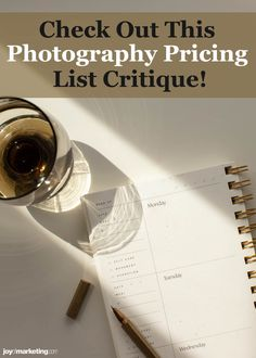 One of the scariest things about running a photography business is figuring out your photography pricing.Once you've done all the math and know how to profitably price your photography, the next step is to present and display your prices so that your clients see you're worth what you're asking to be paid.Below, I'm critiquing the photography pricing list of one of my Simplified Photography Pricing Formula students, Ciera Kizerian. Photography Marketing, Photography Business, Photography Price List, Critique, Growing Your Business, Business Tips, Amazing Photography, Teaching, Marketing Ideas
