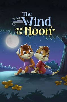 The Wind and the Moon - written by Julie Anne Wight, illustrated by Santosh Neogi & Muntiyaz Hussain  available on #FarFaria www.farfaria.com Twitter:  @FarFaria @Julie Anne Wight