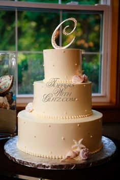 Cake topper letter,