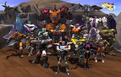 Beast Wars (cartoon) - Teletraan I: the Transformers Wiki - Fall of Cybertron, War for Cybertron, Transformers: Prime, Toys, Kre-O, Rescue Bots