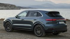 2018 Porsche Cayenne S Drive, Color: Biskaya Blue Metallic. The new Porsche SUV is launching in two variants: The Cayenne with a six-cylinder turbo engine an. Porsche Suv, Porsche Macan S, New Porsche, Bugatti, Lamborghini, Chevy, Chevrolet, Gtr 35, Gtr Nismo