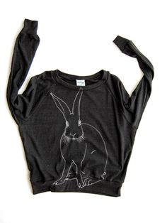 Funny Bunny Pullover by Supermaggie