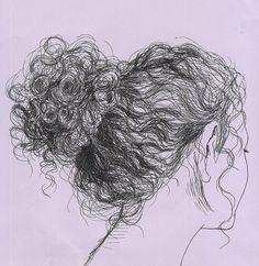 desenho menina cacheada - Pesquisa Google