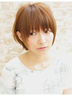 AFLOAT『東省吾』の大人かわいいナチュラル小顔ショート