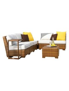 St Barths Modular Sectional Sofa PC) by Panama Jack at Gilt Outdoor Sofa, Outdoor Furniture, Outdoor Decor, St Barths, Modular Sectional Sofa, Lost Art, Panama, Outdoors, Design